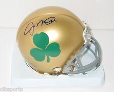 JOE MONTANA signed Notre Dame Mini Helmet with SHAMROCK auto Go Irish 49ers HOF