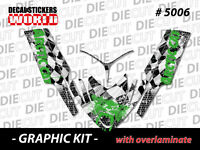 SLED GRAPHIC STICKER DECAL WRAP KIT ARCTIC M8 M7 M SERIES CROSSFIRE  06-11 5006