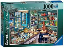 RAVENSBURGER PUZZLE*1000 TEILE*MY HAVEN 3*THE POTTERY SHED*RARITÄT*NEU+OVP
