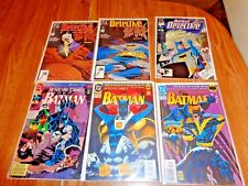 Detective Comics BATMAN-SUPERMAN LOT OF 6