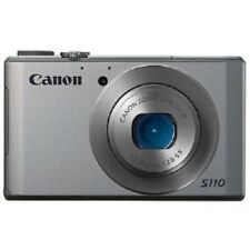 USED Canon PowerShot S110 12.1 MP CMOS Silver Excellent FREE SHIPPING
