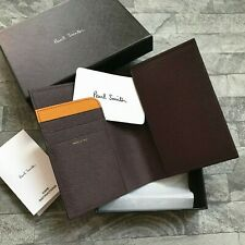 PAUL SMITH LEATHER PASSPORT TRAVEL WALLET MADE IN ITALY BNIB