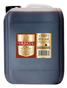 Original Behn ROTER Wikinger Met Honigwein 6% 10 l Liter Kanister Festival