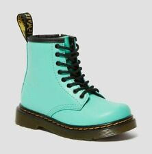Dr. Martens Unisex 1460 Peppermint Green 8 Hole Lace Up Boots Size US W10/M9 New