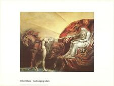 WILLIAM BLAKE ~ GOD JUDGING ADAM 24x32 FINE ART POSTER Print