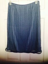 Coast Ladies Blue Vivienne Skirt And Matching Bag Size 12 BNWT RRP £150