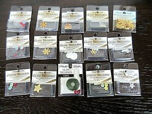 Lot of 15 Mill Hill GLASS & CRYSTAL TREASURES-NEW!