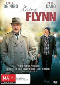 BEING FLYNN DVD 2012 NEW Region 4 Robert De Niro, Paul Dano