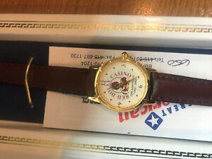 RED DOLLY Casino & Restaurant 10th Anniversary Unused Watch Blackhawk, COLORADO