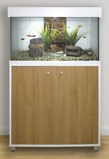 @FLUVAL ACCENT AQUARIUM 95L WHITE FISH TANK & CABINET AUTO DRAINAGE WATER CHANGE