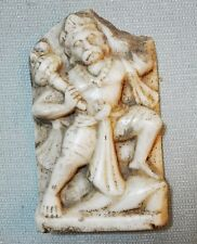 Old Vintage Collectible Hand Carved Fine White Marble God Hanumana Idol Figurine