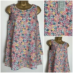 Mistral Cotton Multicoloured Firework Floral Print Layered Sleeveless Top 8 - 18