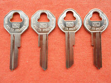 1955 56 57 58 59 60 61 62 63 64 65 66 CHEVY GM KEY BLANKS