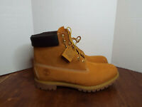 TIMBERLAND MEN'S 6-INCH PREMIUM WATERPROOF BOOTS - 010061- Size 17 Wheat Nubuck