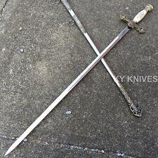"""33.5"""" Knight's Templar Sword NEW Knights Templar Seal & Cross New! 926827"""
