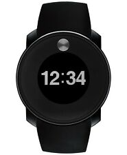 Movado Bold Touch 2 Digital Dual Time Black Silicone Strap Men's Watch 3600365