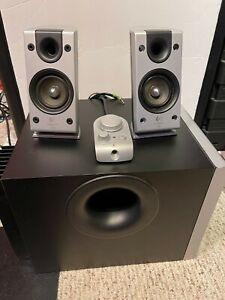 Logitech Z-2300 2.1 THX Computer Speaker & Subwoofer System READ!