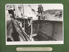 PONT MIRABEAU SUR DURANCE DOMMAGES DE GUERRE BOMBARDEMENTS 1944