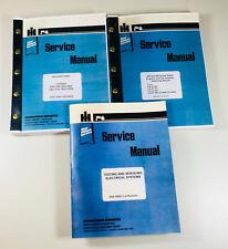 SET INTERNATIONAL 4366 4386 4568 4586 4786 TRACTOR SERVICE MANUAL SHOP OVHL