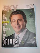 Delta Sky Magazine April 2015  GAME OF THRONES Natalie Dormer Mark Fields