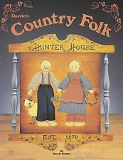 Darcie Hunter : Darcie's COUNTRY FOLK Painting Book - OOPS!