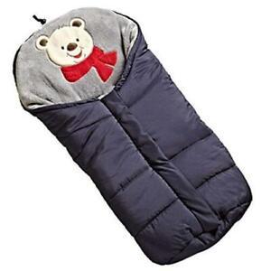 Baby Stroller Sleeping Bag Kids Blanket Swaddle Soft Wrap Winter Thick Footmuff