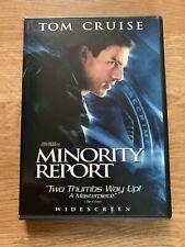 Minority Report (DVD, 2002, 2-Disc Set, Widescreen) Tom Cruise Thriller Suspense