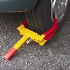 BRAND NEW HEAVY DUTY KEY LOCK CAR CARAVAN TRAILER SECURITY WHEEL CLAMP