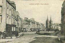 CPA - France - (50) Manche - La Haye-du-Puits - Place du Marché