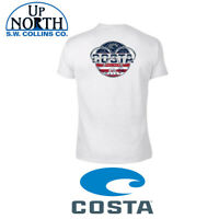 Costa Del Mar Chrome USA T-Shirt Various Sizes Free Shipping