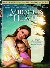 DVD - Miracles from Heaven NEW Eugenio Dervez FAMILY FILM ! FAST SHIPPING !