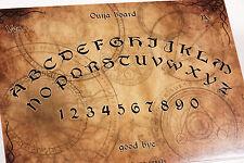 Clasic wooden Ouija Spirit Board game & Planchette with instruction EVP Bizarre