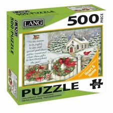Gifts Of Christmas 500 Piece Puzzle, 500 Piece Puzzles by Lang Companies