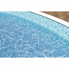 Poolfolie MOSAIK  4,60m x 1,10m Ersatzfolie Poolauskleidung Schwimmbadfolie Pool