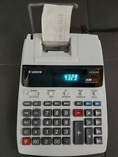 Canon P170-Dh 12 Digit 10 Key Adding Machine Clock & Calendar Calculator!