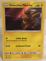 Detective Pikachu Holo Promo SM #190 Pokémon Card In Never Played Condition!