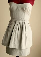 J Crew Strapless Silk Petite Dress size AU 6, XS, US 0P