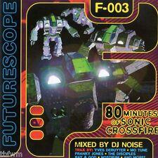 DJ Noise - Futurescope F 003 - CD MIXED - HARD TRANCE ACID
