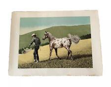 1974 Mort Kunstler Signed Limited Edition AP Western Art Cowboy Appaloosa Horse