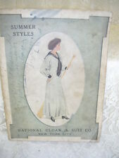 Antique Catalog National Cloak & Suit Co 1910  Summer Clothing Styles