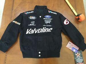 2000 NASCAR Mark Martin Valvoline Racing JACKET NWT Youth Kid Med vintage Black