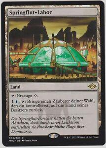Magic the Gathering - Modern Horizons 2 - Springflut-Labor *Land*
