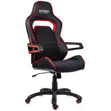Nitro Concepts E220 Evo Series Gaming Chair - Black/Red