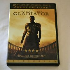 Gladiator Russell Crowe Dvd Classic Movie Widescreen