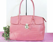 Michael Rome Croco-Embossed Executive Tote Bag VIEW  all pcs NWT $175 BIG SALE