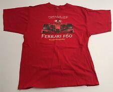 Ferrari F60 T Shirt Formula One World Championship Scuderia Medium M