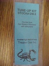 Gun Parts Trapper Gun Inc. Tune-Up Kit for Dan Wesson Old Style Rev. Stock# DW-2
