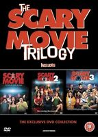 Scary Movie Trilogy - Part 1 2 3 All Film Horror Spoof Comedy 3-Disc Set New DVD