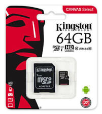 Kingston MicroSD 64GB SDXC Samsung Memory Card Micro sd TF Mobile Phone Class 10