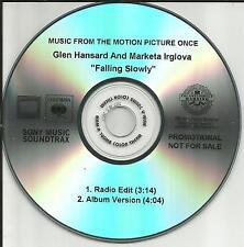SWELL SEASON The Frames GLEN HANSARD Falling Slowly RADIO EDIT PROMO CD Single